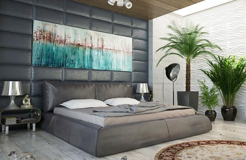 klasyczne łóżko